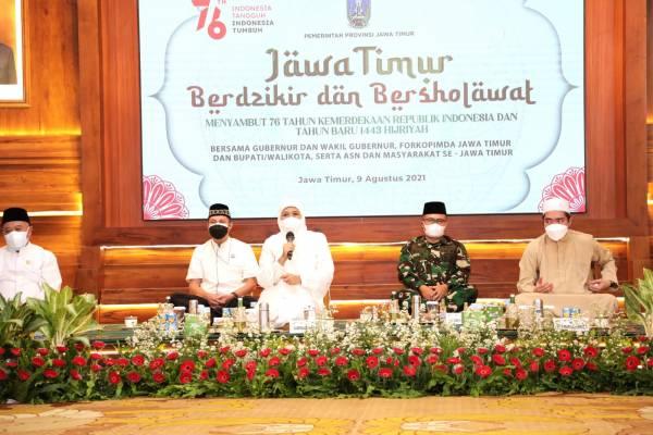 Tahun Baru Islam, Gubernur Khofifah: Jangan Kendor