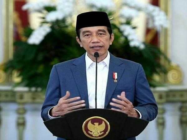 Puncak Harlah NU ke 98, Jokowi: Momentum Kukuhkan Tali Persaudaraan
