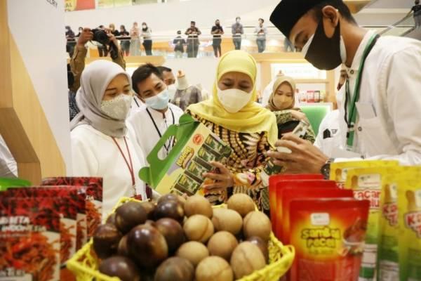 Buka Festival Ekonomi Syariah, Khofifah: Ini Langkah Kuatkan Halal Value Chain