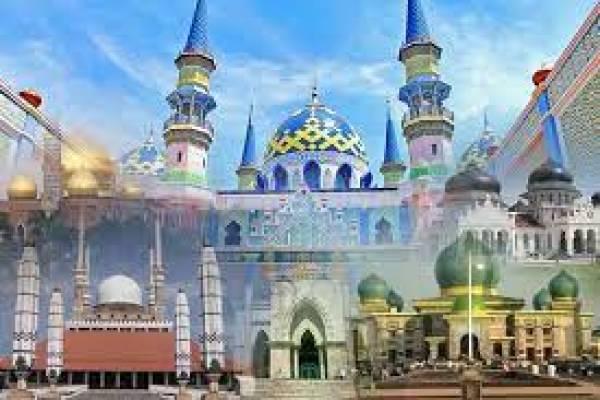 Masjid di Indonesia yang Memiliki Arsitektur Unik (Bagian 2)
