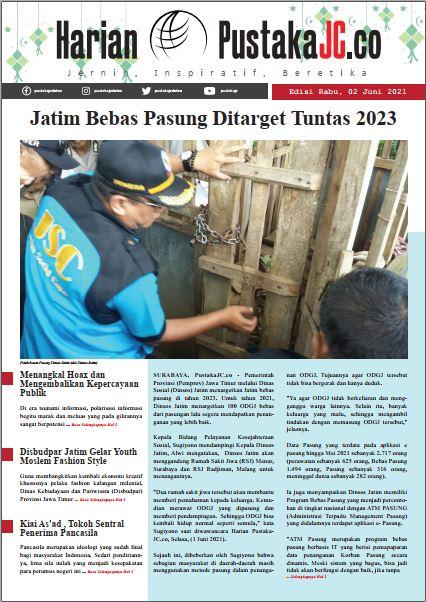 Edisi Rabu, 02 Juni 2021