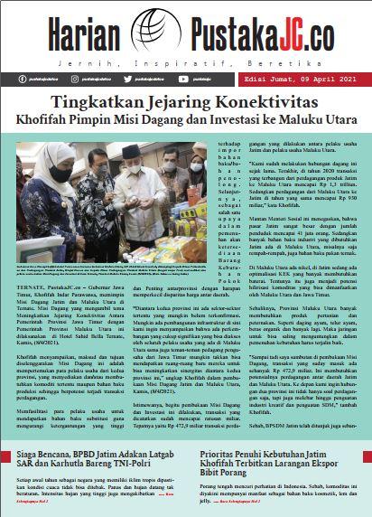 Edisi Jumat, 09 April 2021