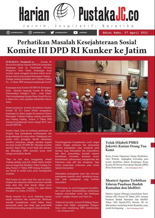 Edisi Rabu, 07 April 2021