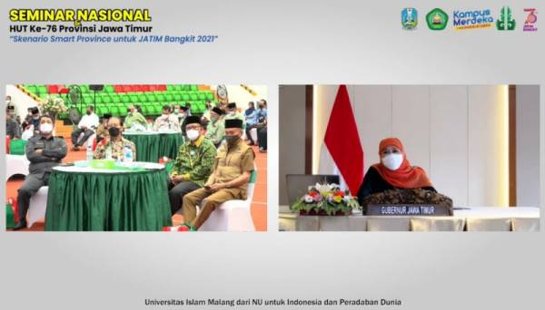 Khofifah Wujudkan Smart Province Untuk Majukan Provinsi Jatim