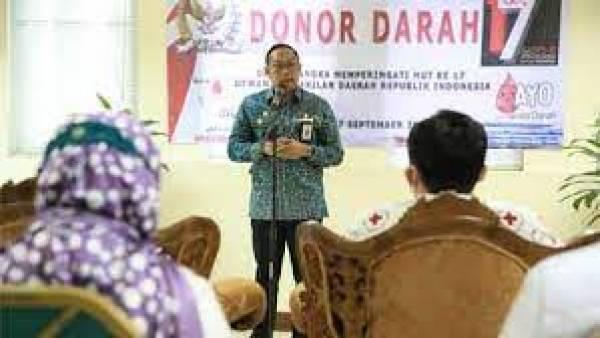 Sekretariat Jenderal DPD RI Gelar Donor Darah, Sambut HUT ke-17