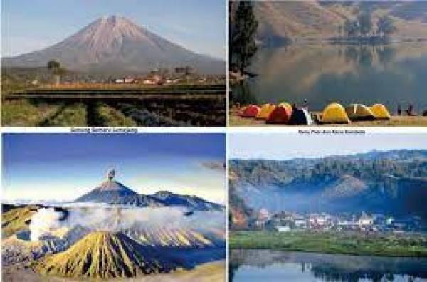 Pesona Objek Wisata di Kaki Gunung Semeru